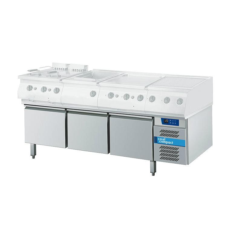 cool compact Kühltisch 1/1 GN - 3K