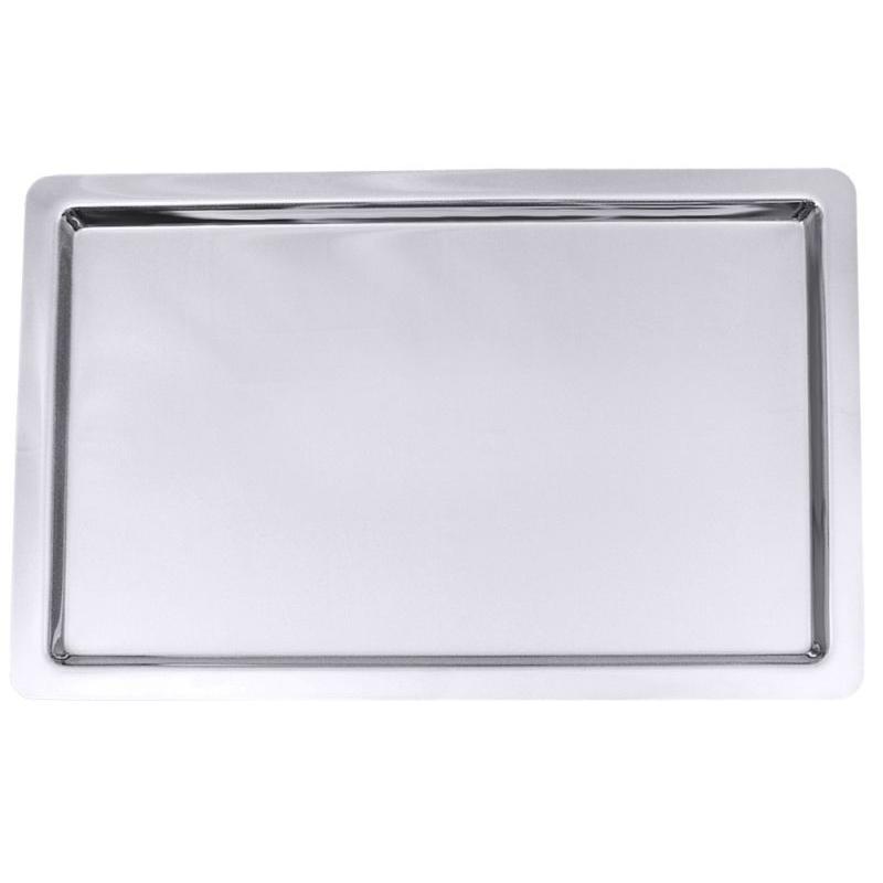Contacto Tablett - 100 x 65 cm, Edelstahl