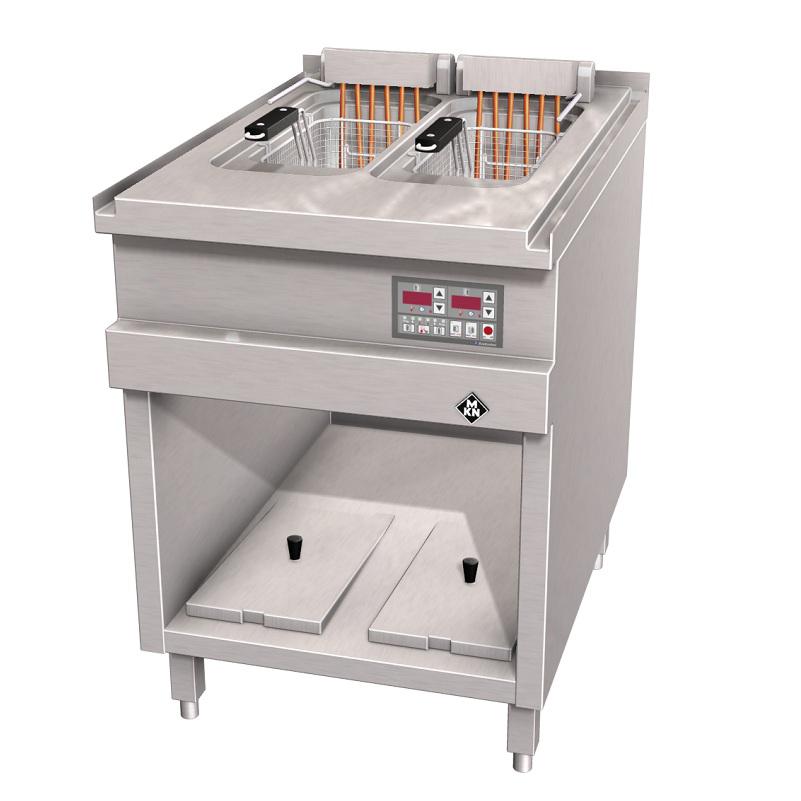MKN Doppel Fritteuse EcoControl - Elektro - London II - Optima 850 - FT