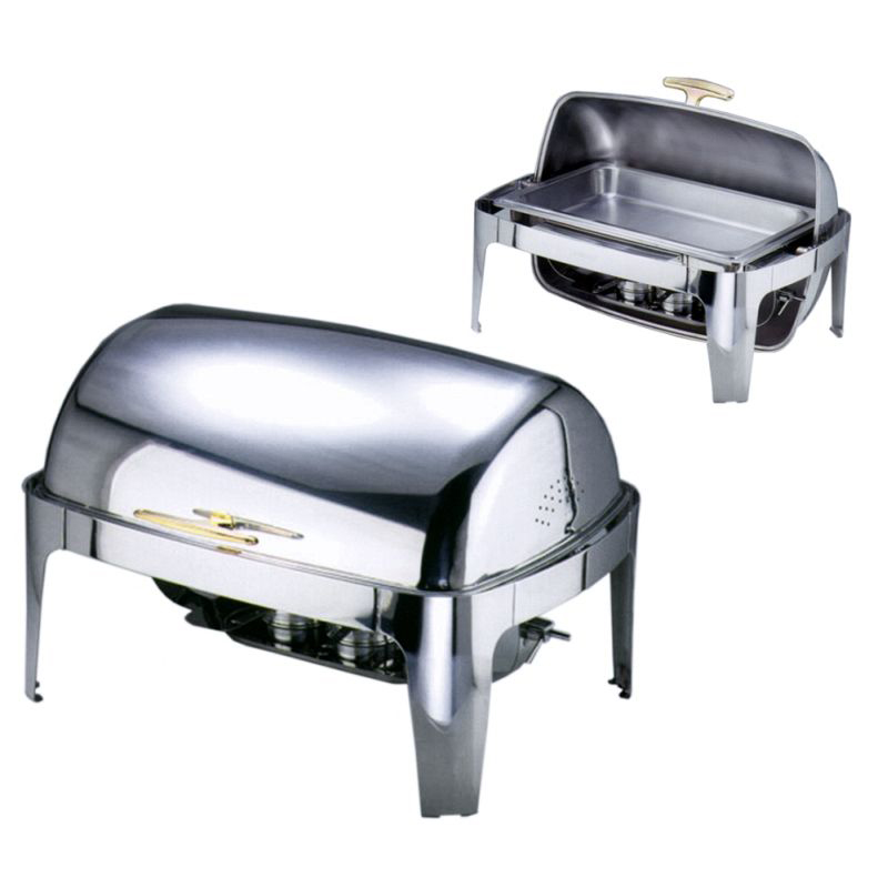 Contacto Chafing Dish Roll-Top - GN 1/1 - 2 Brennbehälter