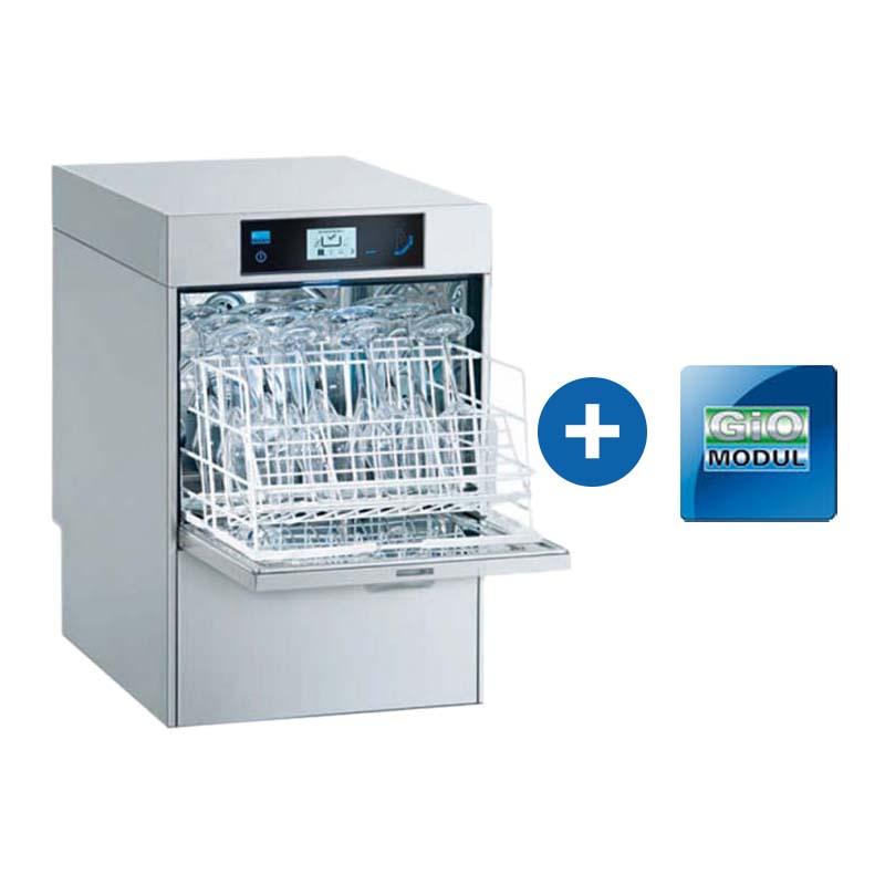 Meiko Gläserspülmaschine M-iClean US + GiO-MODUL – vollintegriert inkl. Inbetriebnahme