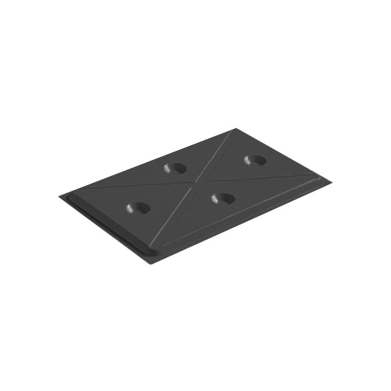 Rieber Kühlplatte GN 1/1 - schwarz