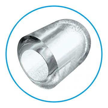 Beispiel für die Eisform Kegel