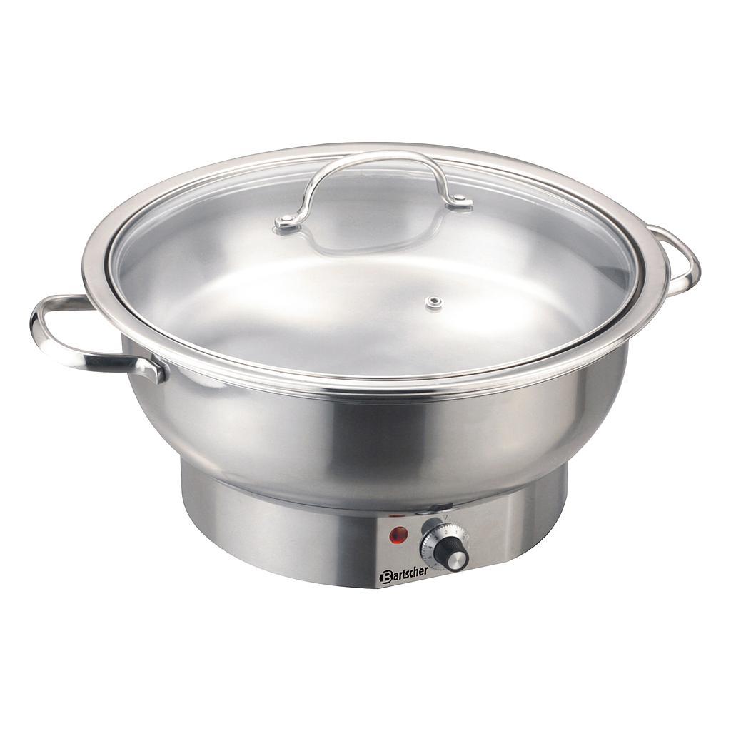 Bartscher Chafing Dish SilverLine - Ø 33 cm, 3,8 L