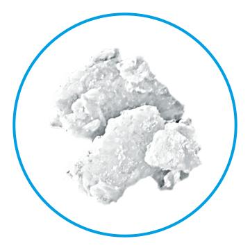 Beispiel für die Eisform Flockeneis