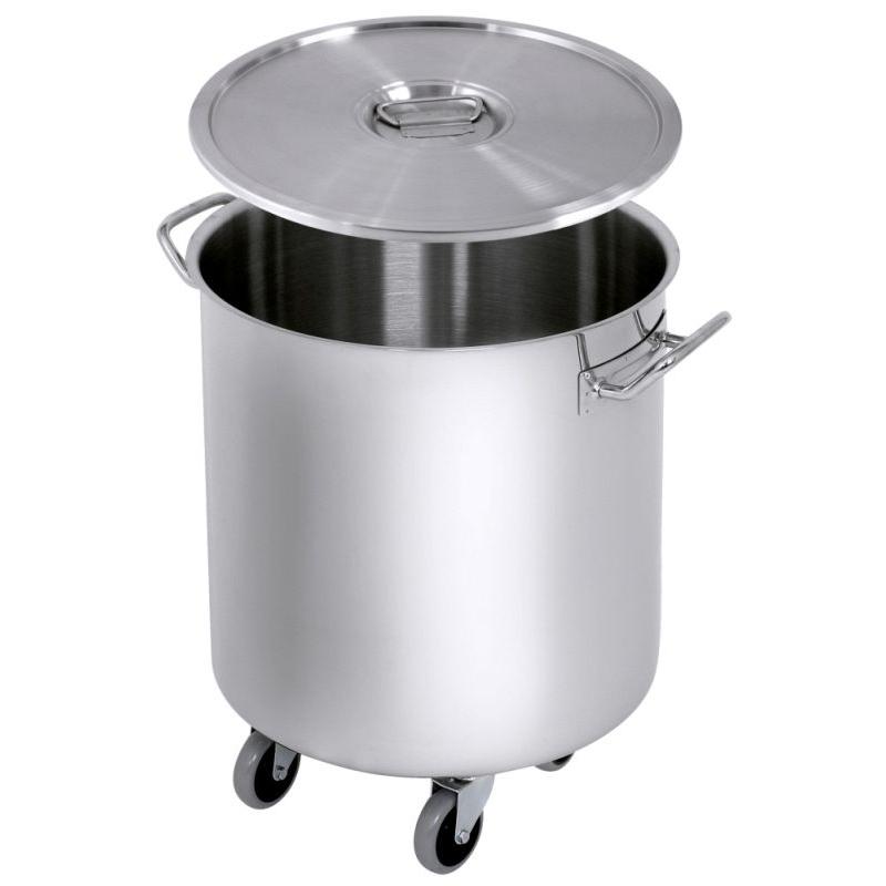 Contacto Abfallbehälter mit Rollen - 50 Liter