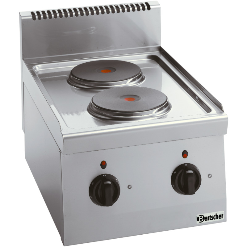Bartscher Elektroherd 2 Platten - Serie 600
