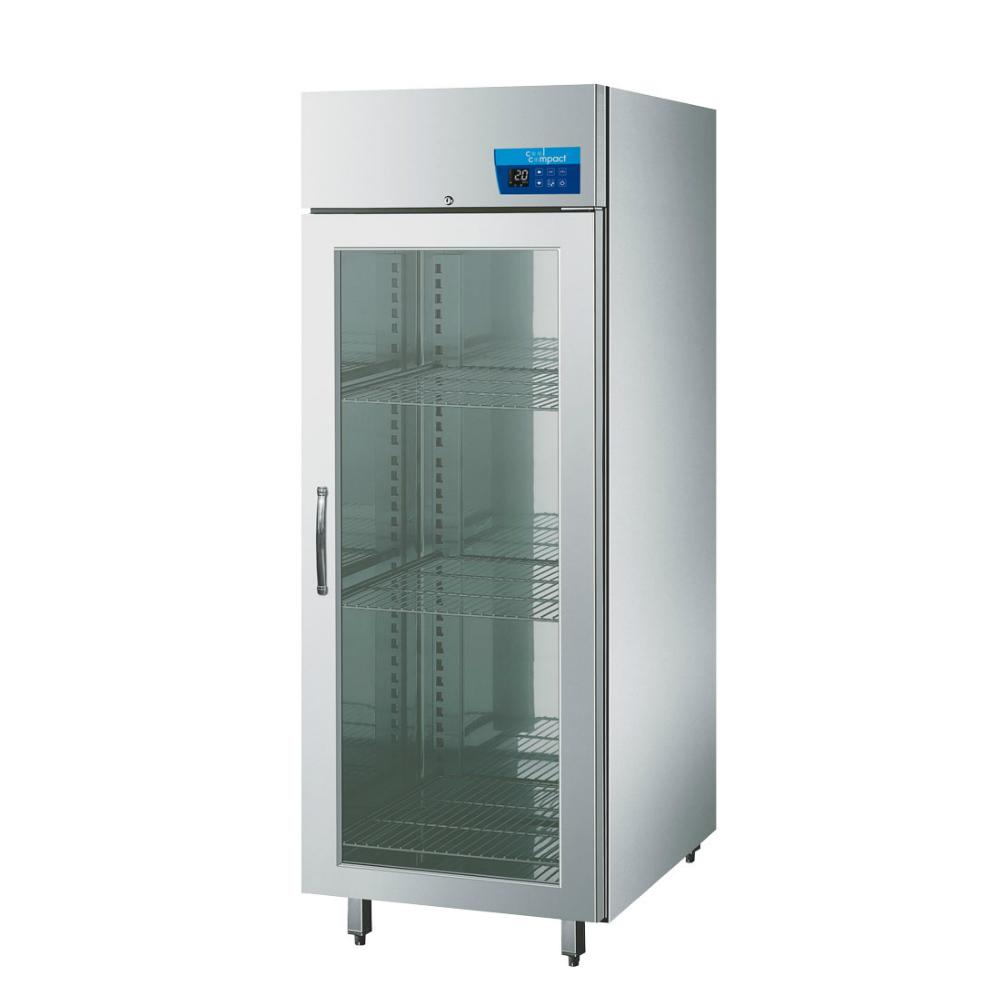 cool compact Tiefkühlschrank 410 - Glastür