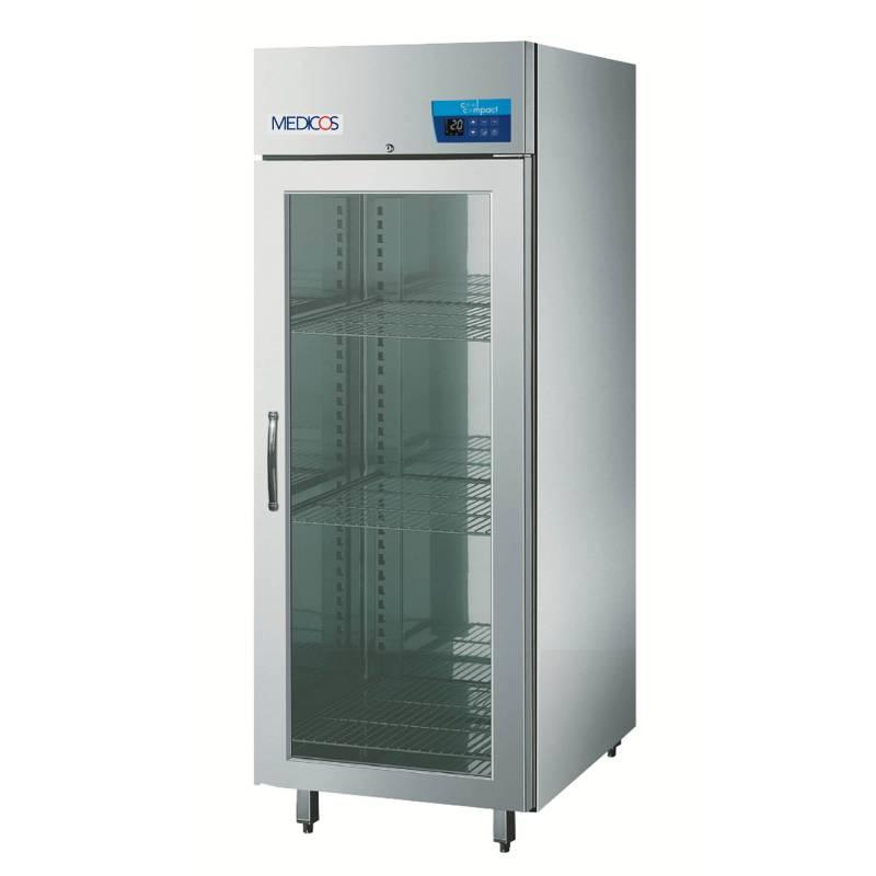 cool compact Medikamententiefkühlschrank Medicos 590 - Glastür