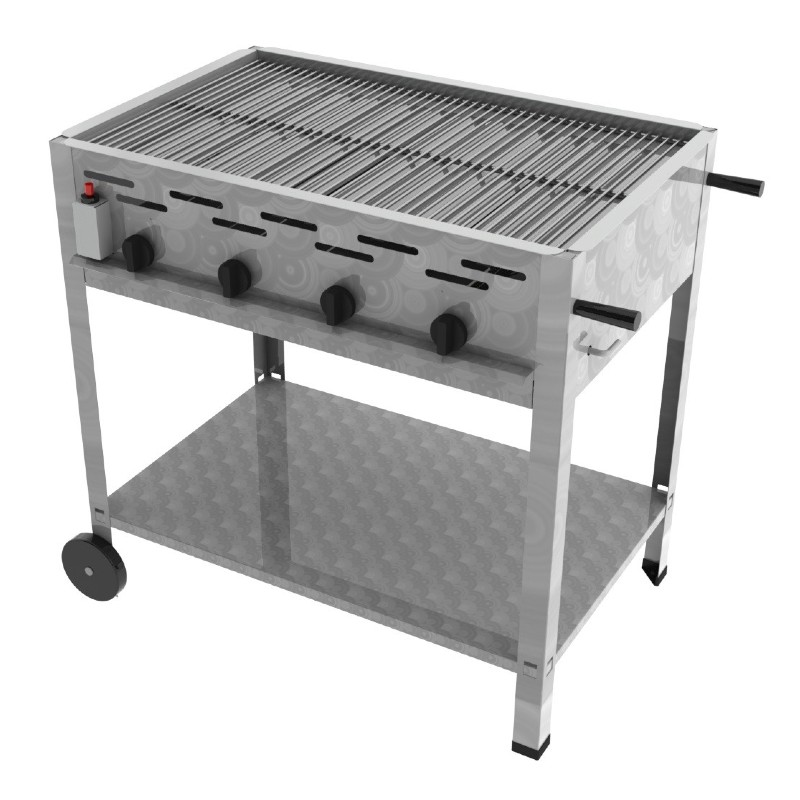 ChattenGlut 4er Gas Standgrill
