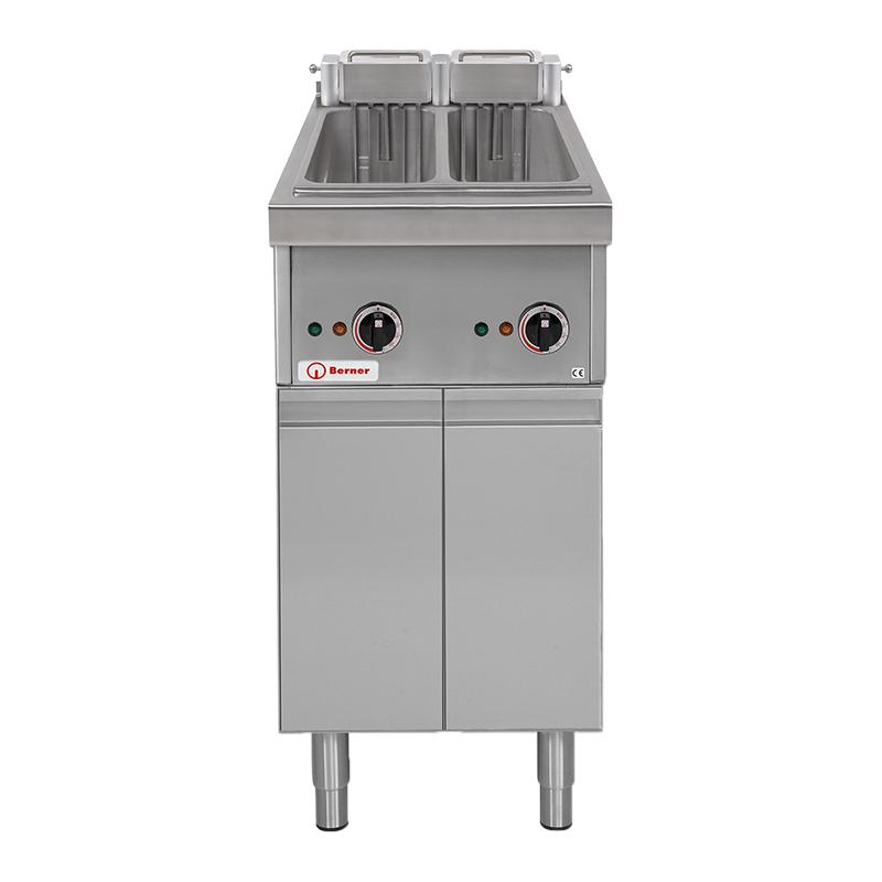 Berner Doppel Fritteuse - Elektro - BHF2KTD