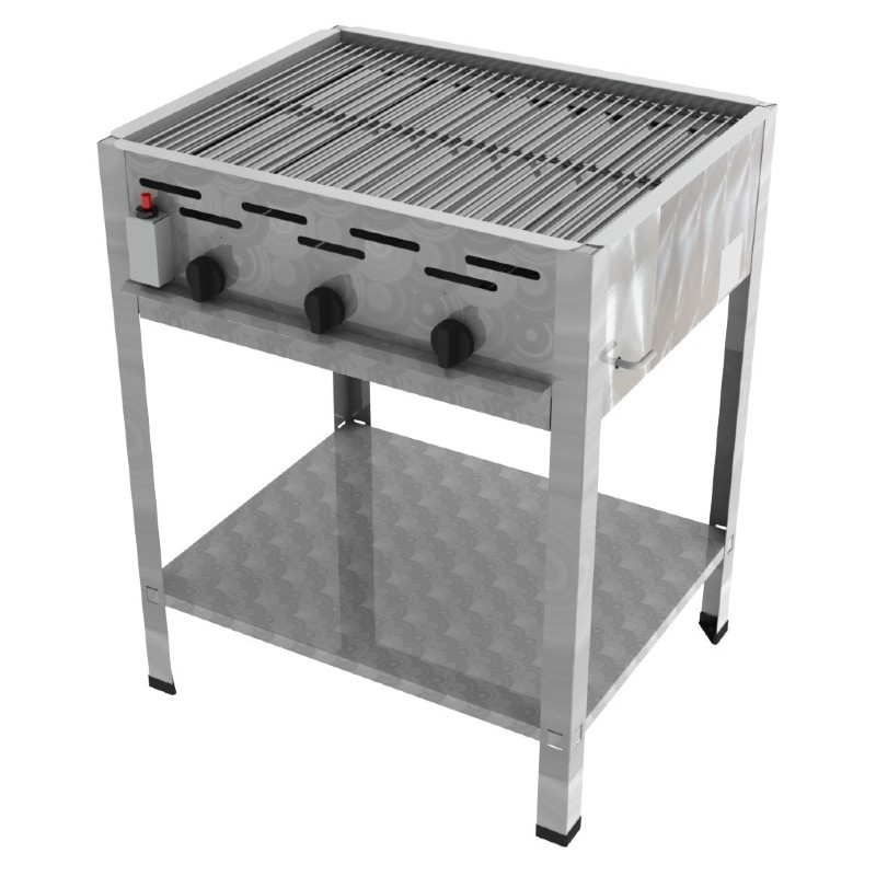 ChattenGlut 3er Gas Standgrill