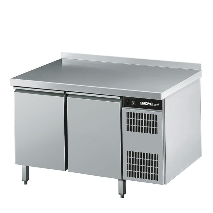 Chromonorm Bäckereitiefkühltisch mit 2 Türen