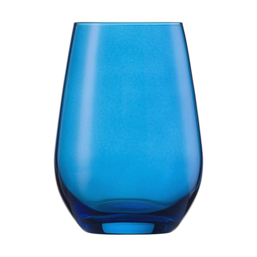 Wasserglas blau VINA SPOTS - 397 ml