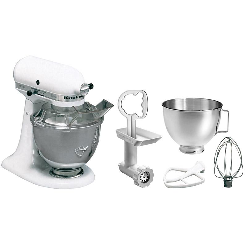 KitchenAid Küchenmaschine Set 5KSM45EWH MP
