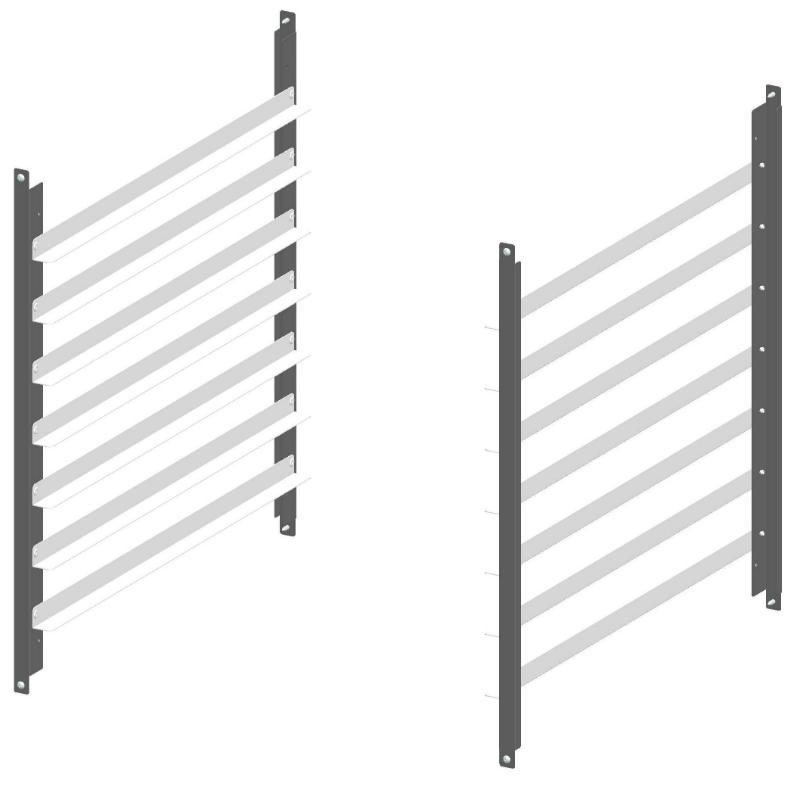 Unox Einhängegestell für 7 Backmaßeinschübe