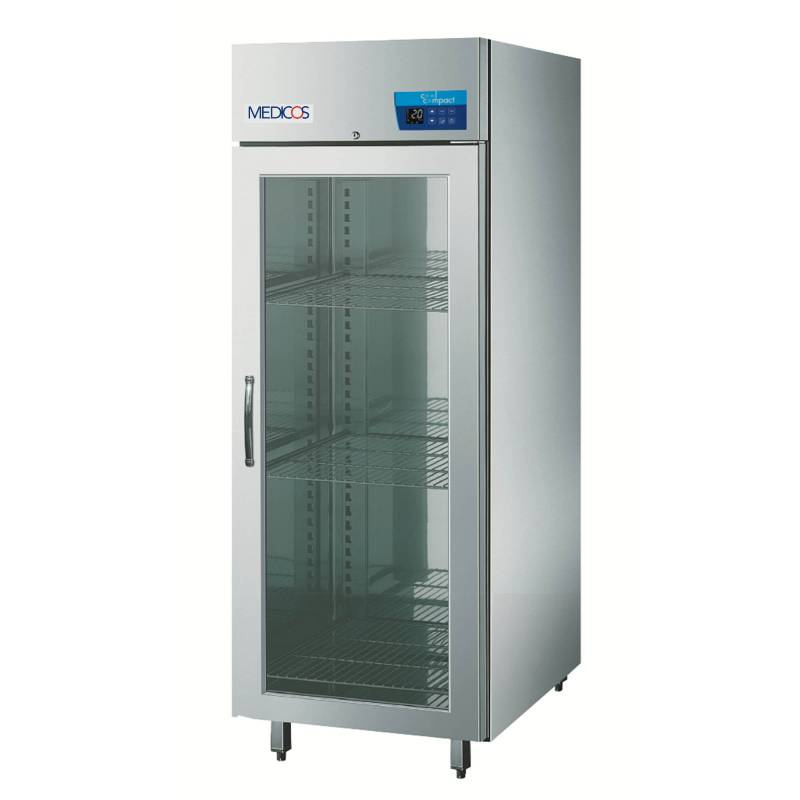 cool compact Medikamentenkühlschrank Medicos 590 - Glastür