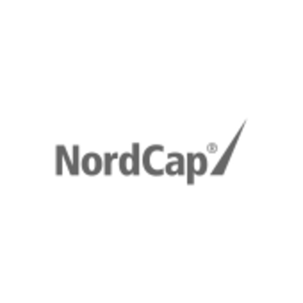 Nordcap Edelstahl-Eisschalen für Quartetto - rund