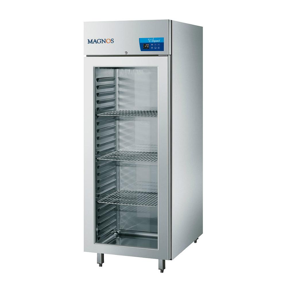cool compact Tiefkühlschrank MAGNOS 570 - Glastür
