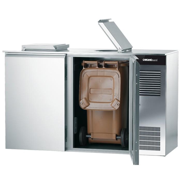 Chromonorm Abfallkühler - 2 Türen - 2x240L