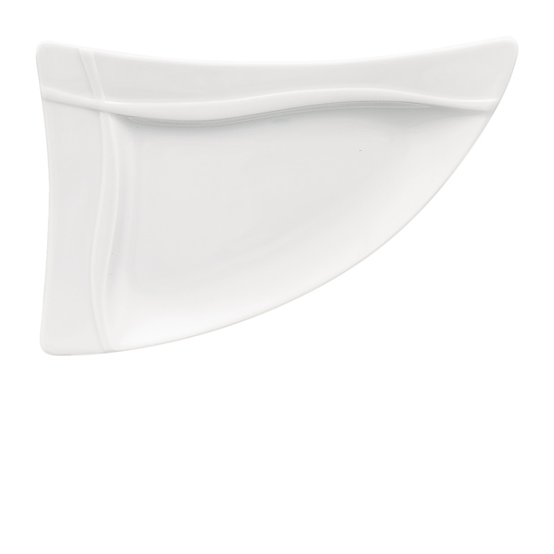 Bauscher Platte dreieckig Fahne 38 cm - Serie pleasure