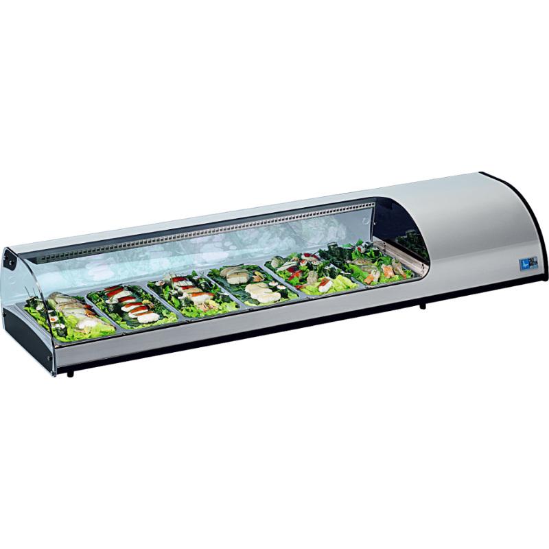 KBS Kühlvitrine Sushi 8 GN