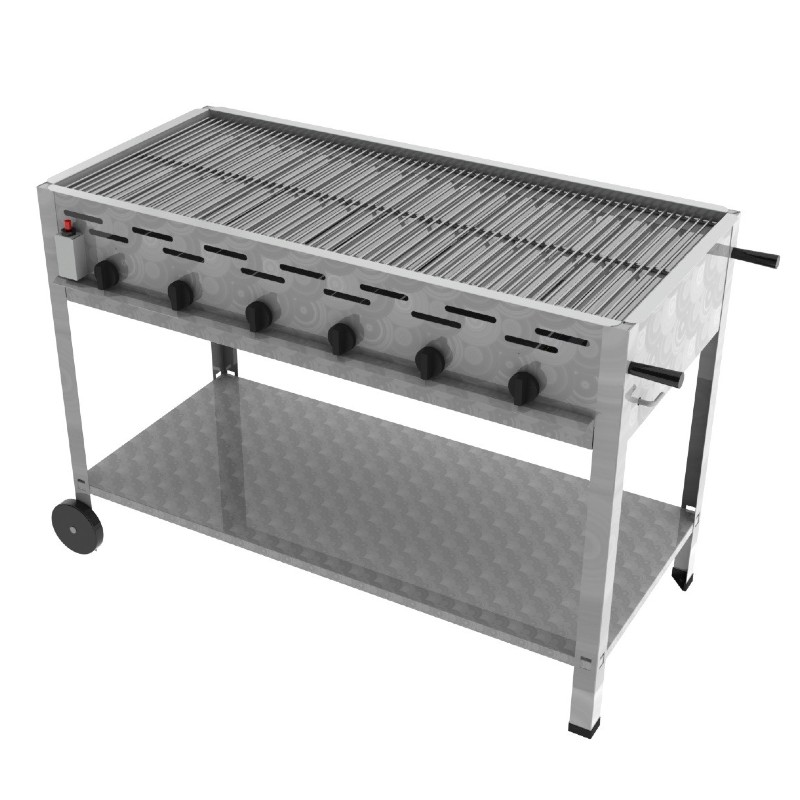 ChattenGlut 6er Gas Standgrill
