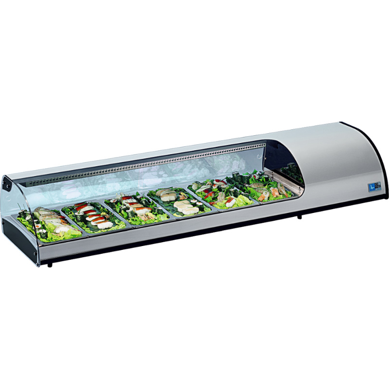 KBS Kühlvitrine Sushi 6 GN
