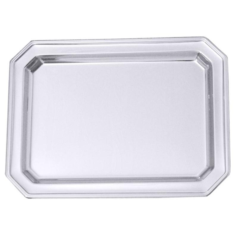 Contacto Tablett, 31 x 23,5 cm - Edelstahl