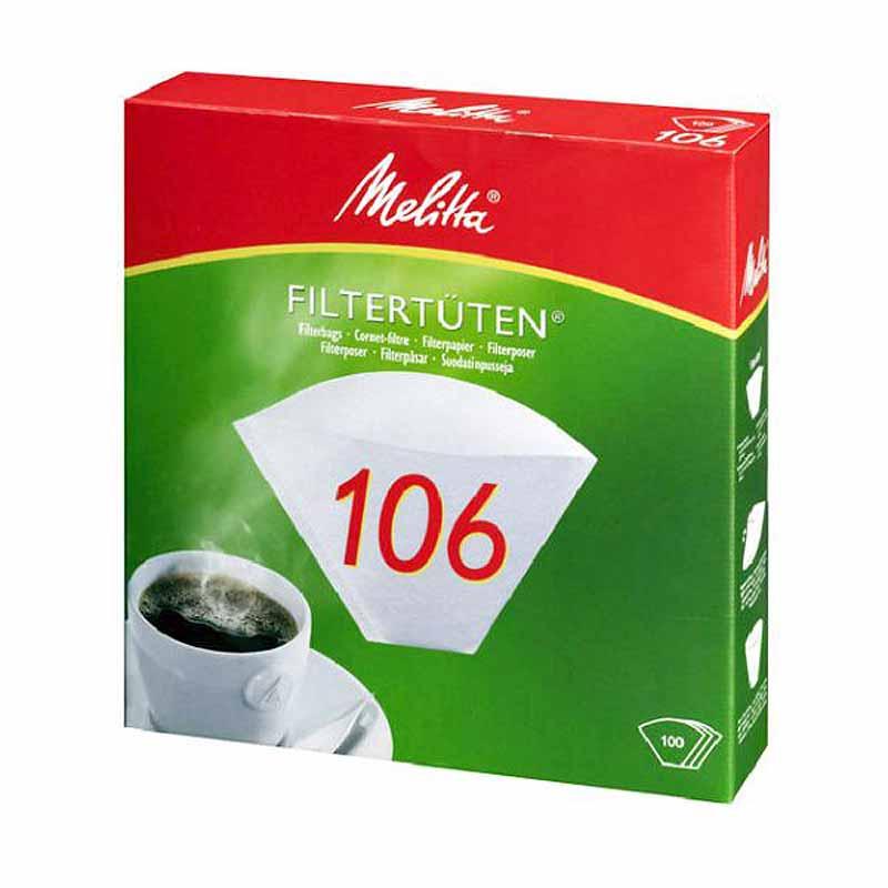 Melitta Filtertüten Pa 106 G