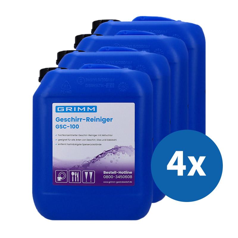 GRIMM Geschirr-Reiniger Paket GSC-100 Chlor