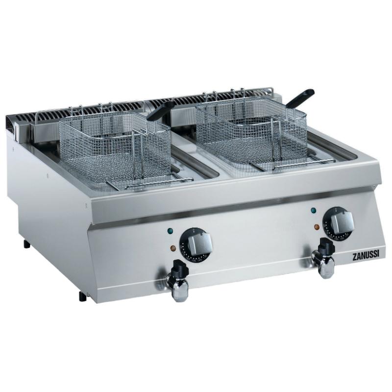 Zanussi Doppel Fritteuse - Elektro - Serie EVO 700 2B, 17,4 kW