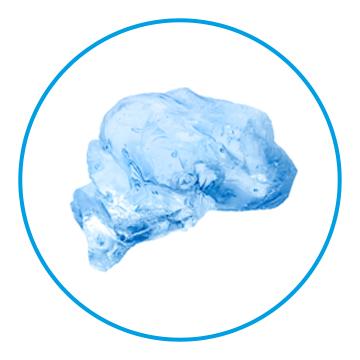 Beispiel für die Eisform Bruch/Scherbeneis