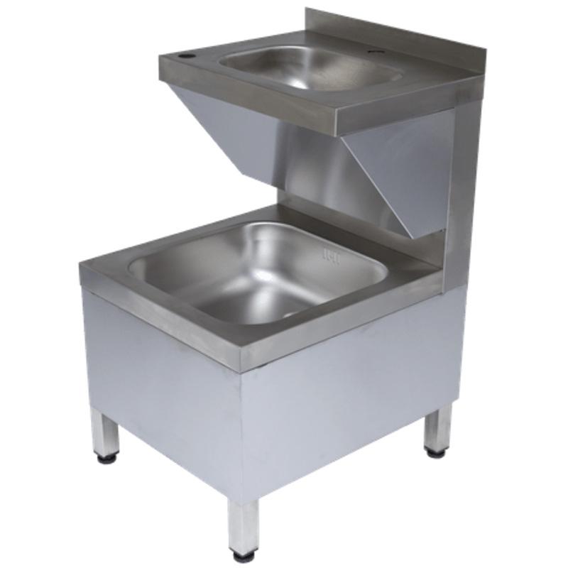 Rieber Handwasch-Ausgussbecken Kombination - HAK-S II