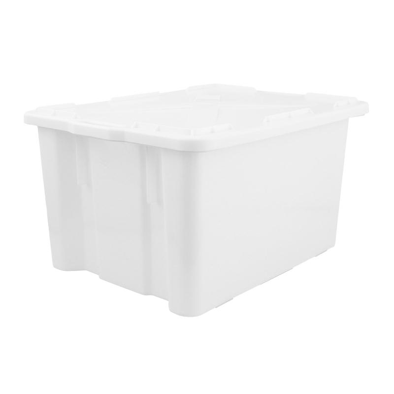 Stapelbehälter mit Deckel 65 L.