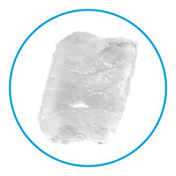 Beispiel für die Eisform Nugget