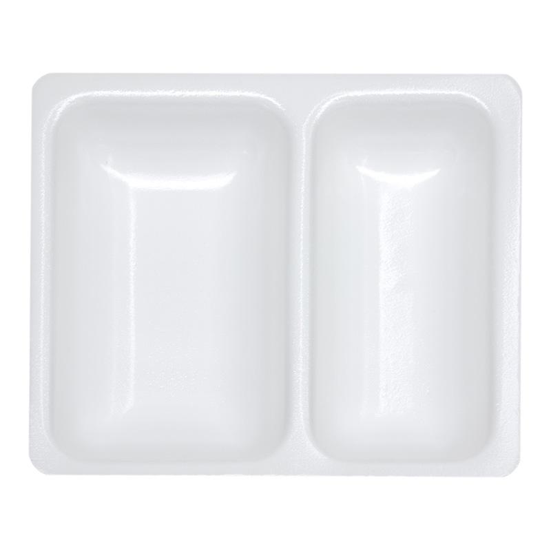 BS Verpackung BS-ISO-Menüschalen 2-geteilt - 0,9 L