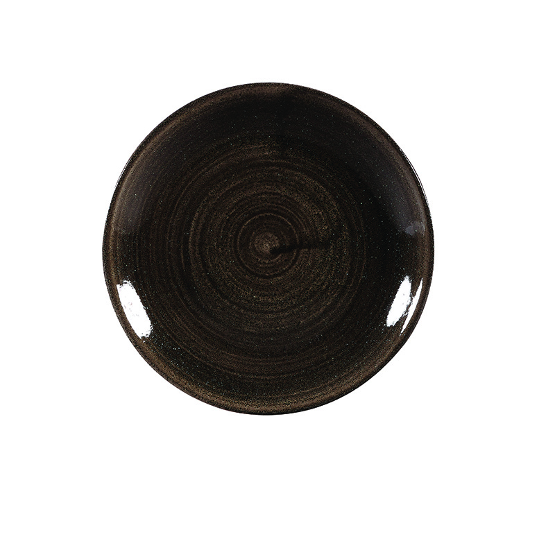 Churchill Teller Coupe 16,5 cm - Serie Stonecast Patina Iron Black